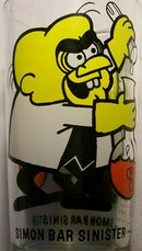 Pepsi/Leonardo TV Collector's Glass:  Simon Bar Sinister
