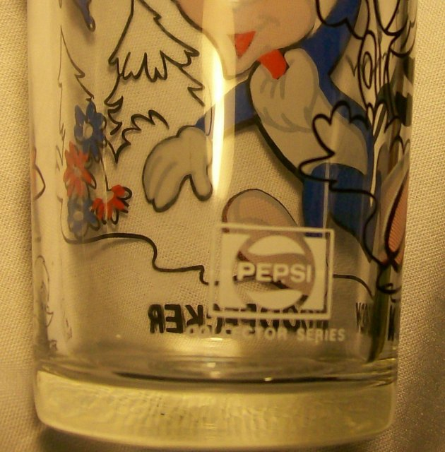 Pepsi/Walter Lantz Collector's Glass:  Woody Woodpecker