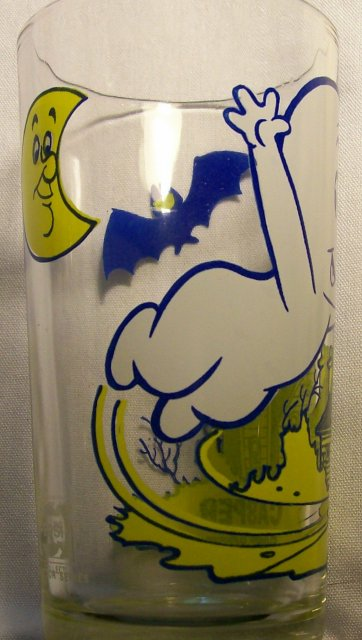 Casper the Friendly Ghost Collector's Glass Pepsi/Harvey Cartoons 1970's