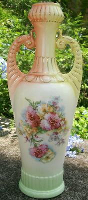 Early 1900's Austrian Vase: Grecian Style