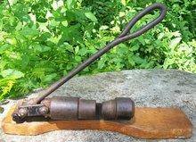 Reed's Rocket Nutcracker Early Version Oak Base