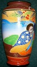 Satsuma-style Vase