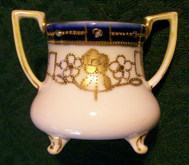 Noritake Nippon Gold-Encrusted Toothpick Holder