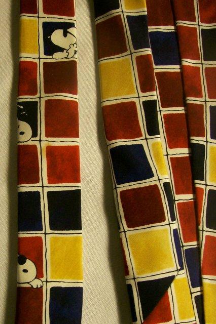 Peanuts/Snoopy/Joe Cool Silk Neck Tie