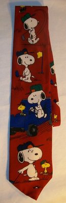 Peanuts/Snoopy Silk Neck Tie