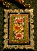 Italian Micromosaic Necklace:  Ca. 1900