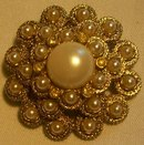Sarah Coventry Brooch/Pin:  1960's-70's