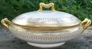 Delinieres / Bernardaud Limoges Covered Vegetable Bowl