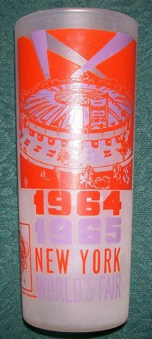 1964-65 New York  World's Fair Glass Tumbler: Circus