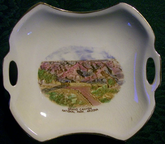 Grand Canyon Souvenir Ceramic Dish Jonroth/Royal Winton