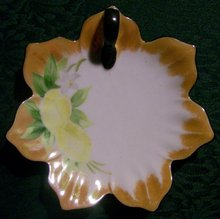 Noritake Handpainted Lemon Dish