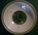 Ceiling Light Shade:  Embossed Flower Band