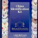 Replacements LTD China Pattern ID Kit Book 2 Notebook