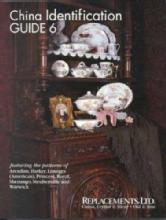 China Pattern ID Guide Book 6 Arcadian, Harker, Limoges, Princess, Shenango, Steubenville, Warwick