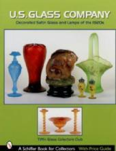 US Glass Company: Decorated Satin Glass & Lamps of the 1920s