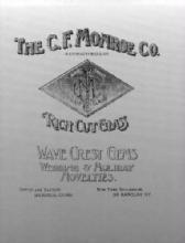 The C. F. Monroe Company Catalog (1902-1903): Wave Crest Gems, Wedding & Holiday Novelties