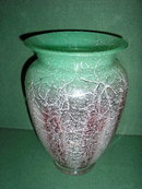 GERMAN W.M.F. IKORA ART VASE RARE COLOR