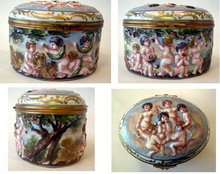 CapodiMonte Jewel Box - Oval