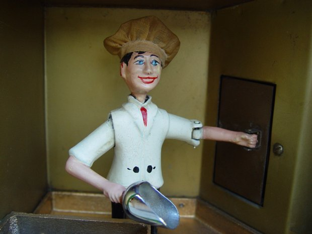 Baker Boy Vending Machine