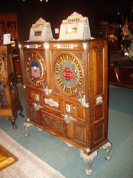 Mills Double Dewey Slot Machine