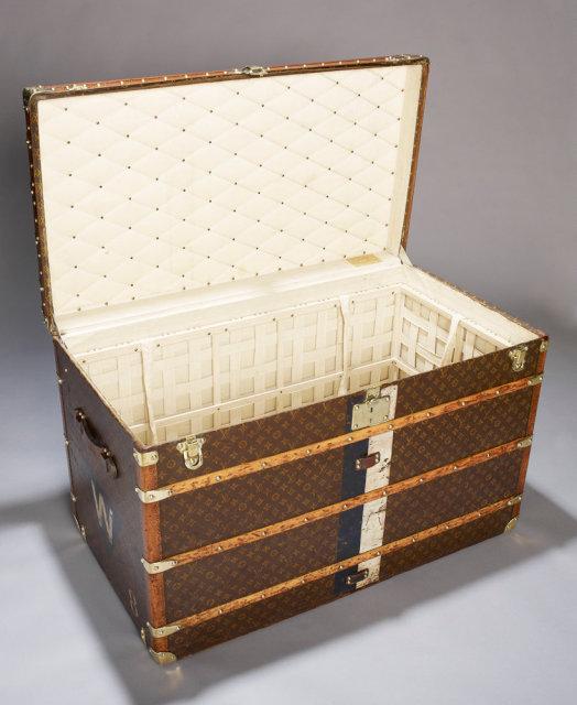 Louis Vuitton Vintage Trunk, 1914.