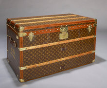 Louis Vuitton Vintage Trunk, circa 1920.