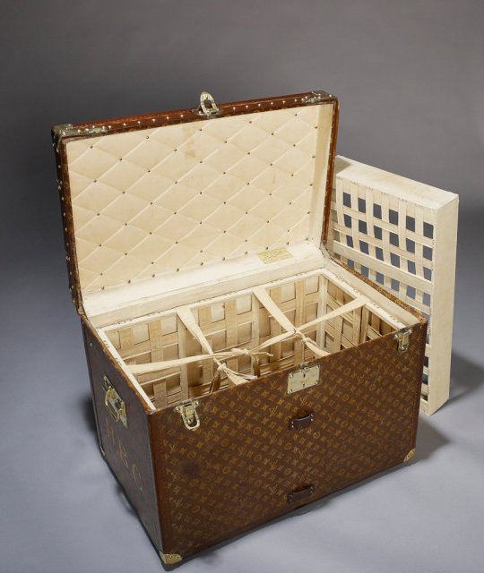 Vintage Louis Vuitton Trunk, circa 1905