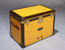 Vintage Louis Vuitton Shoe Trunk, circa 1920.