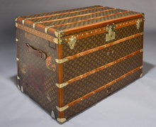 Vintage Louis Vuitton Trunk, circa 1920