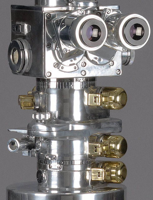 Carl Zeiss Turret Binoculars, circa 1960.