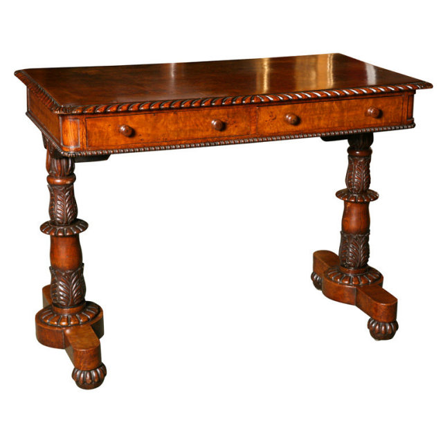 An English Antique Small Writing Table
