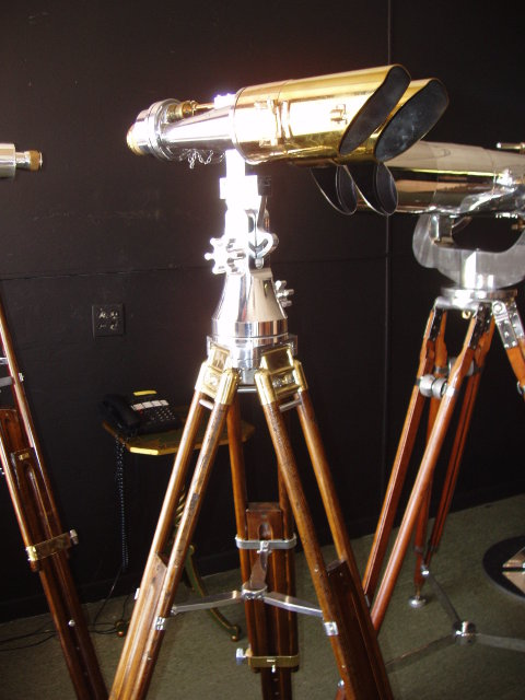 A Pair of WW II Big Eye Binoculars