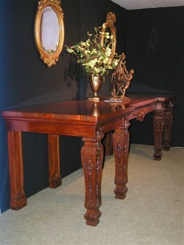 A Most Important English William IV Period Serving Table.
