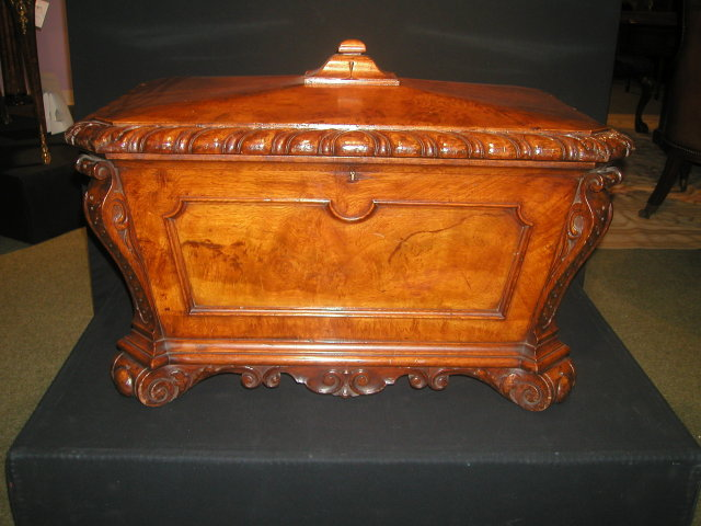 An English Antique William IV Period Wine cooler/Cellarette