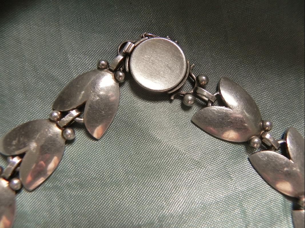 Georg Jensen TULIP Necklace design #66 Denmark