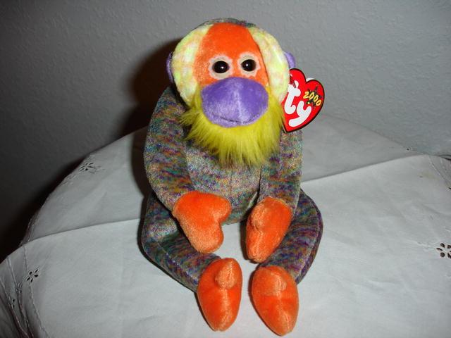 Ty Beanie Baby Monkey