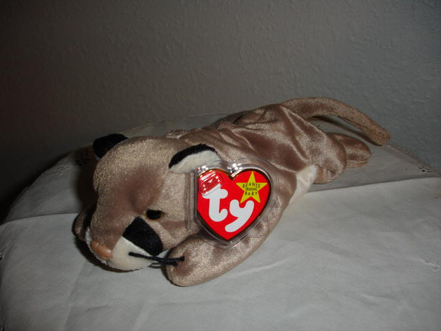 Ty Beanie Baby Cougar