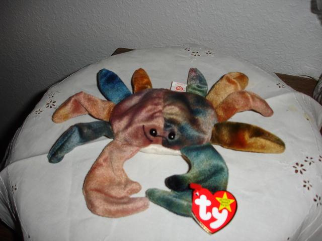 Ty Beanie Baby Crab