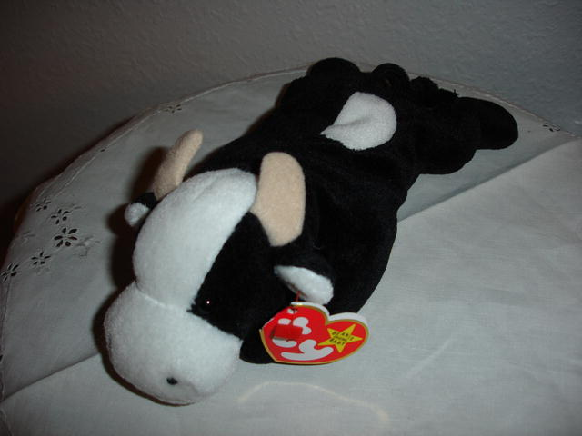 Ty Beanie Baby Cow