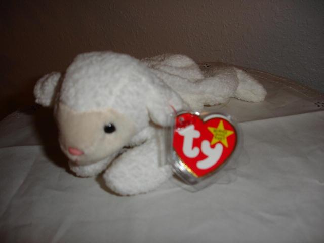 Ty Beanie Baby Lamb