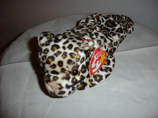 Ty Beanie Baby Leopard