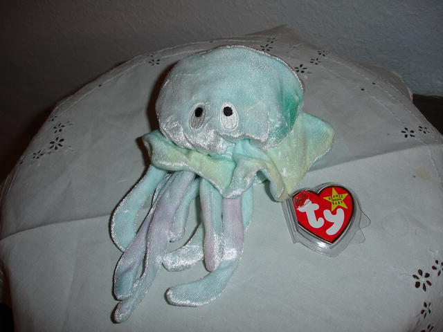 Ty Beanie Baby Jellyfish