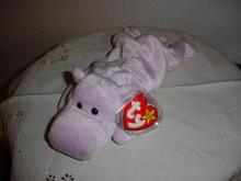 Ty Beanie Baby Hippo