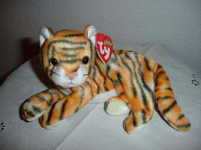 Ty Beanie Baby Tiger