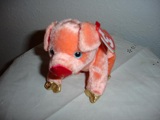 Ty Beanie Baby Pig (Zodiac Series)