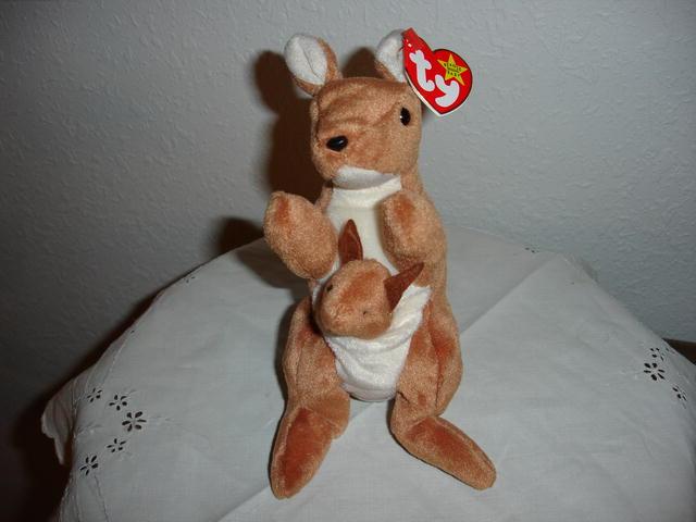 Ty Beanie Baby Kangaroo