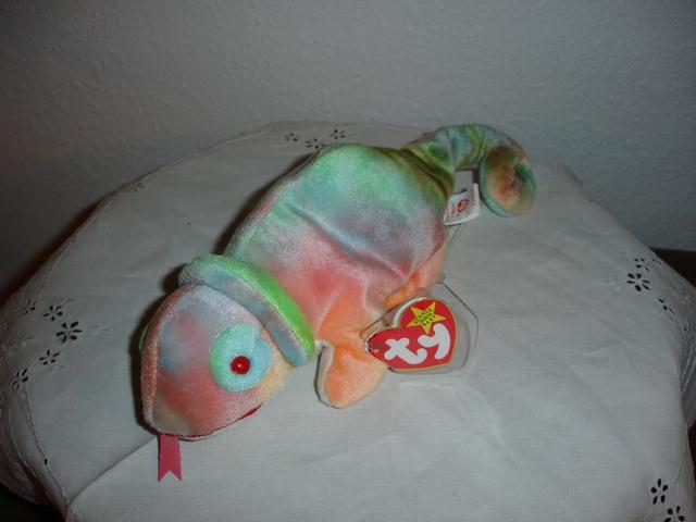 Ty Beanie Baby Chameleon