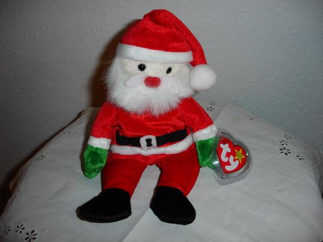 Ty Beanie Baby Christmas Santa