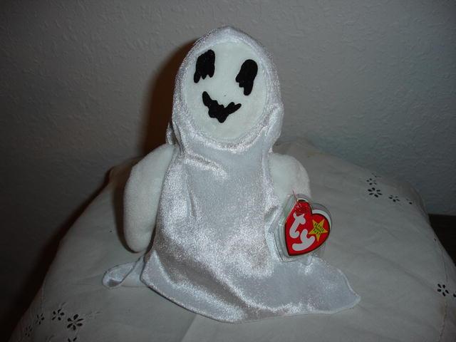 Ty Beanie Baby Halloween Ghost