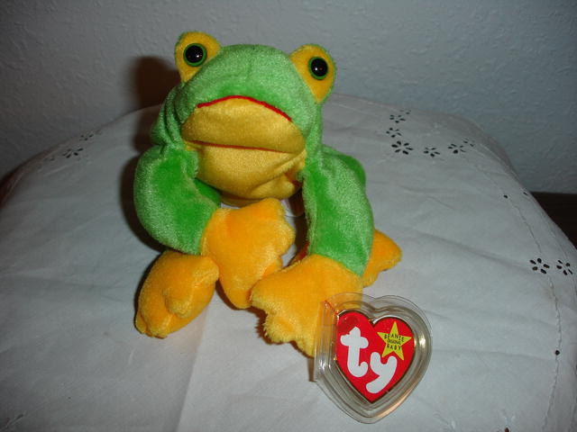Ty Beanie Baby Frog